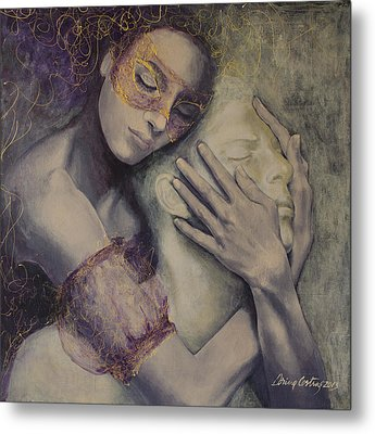 Delusion Metal Print by Dorina  Costras