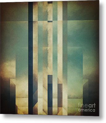 Demagogic Sky Metal Print by Lonnie Christopher