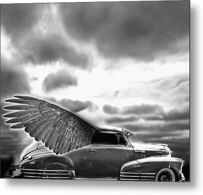 Demon Chevrolet Metal Print by Larry Butterworth