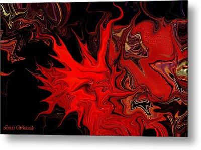 Demon Ocular M Scintillation Metal Print