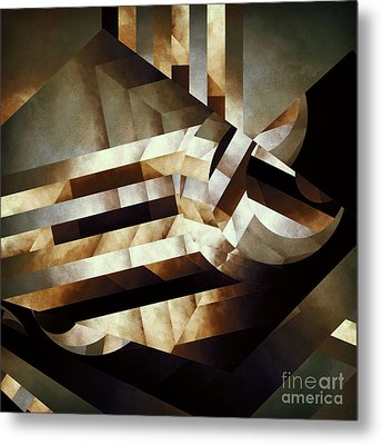 Demoralized Space Metal Print by Lonnie Christopher