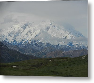 Metal Print featuring the photograph Denali by Karen Molenaar Terrell