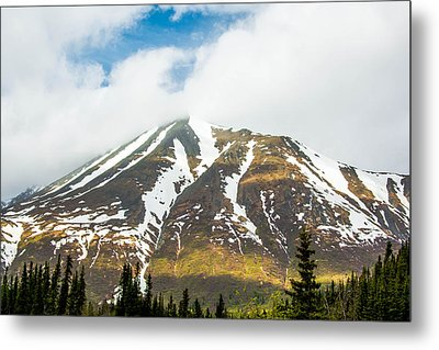 Denali Mountain Metal Print