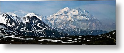 Metal Print featuring the photograph Denali National Park Panorama by John Haldane