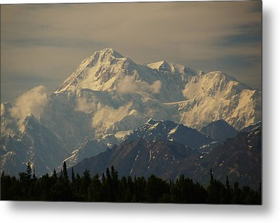 Denali  Or Mt Mckinley Metal Print