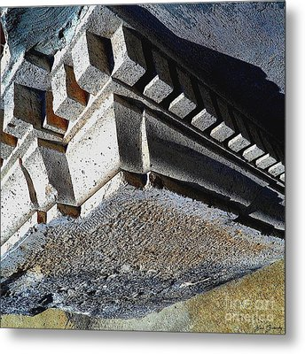 Dent Espace La Verite Trebuche Sur La Place Publique Metal Print by Contemporary Luxury Fine Art