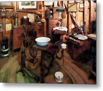 Dentist - Dental Office Metal Print by Susan Savad