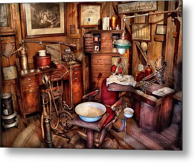 Dentist - The Doctor Will Be With You Soon  Metal Print by Mike Savad
