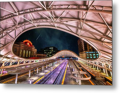 Denver Air Traveler Metal Print