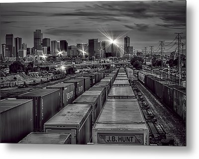 Denver's Underbelly Metal Print
