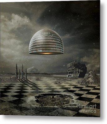 Departure Metal Print by Franziskus Pfleghart
