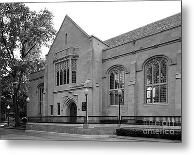 Depaul University Cortelyou Commons Metal Print by University Icons