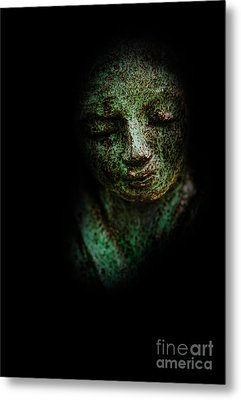Metal Print featuring the photograph Depression by Lee Dos Santos