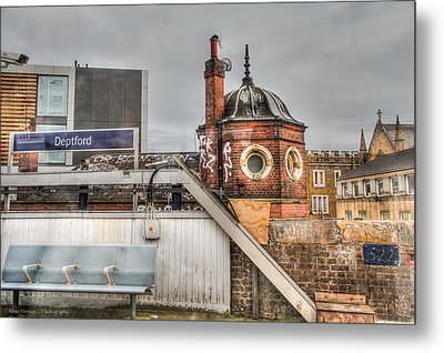Metal Print featuring the photograph Deptford Station by Ross Henton