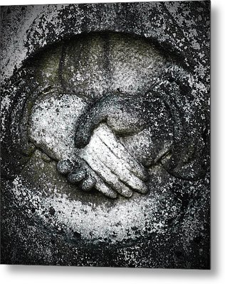 depth of Tragety Metal Print by David Fox