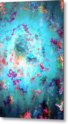 Depths Of Emotion - Abstract Art Metal Print by Jaison Cianelli