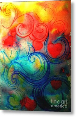 Depths Of His Love Metal Print by Hazel Holland