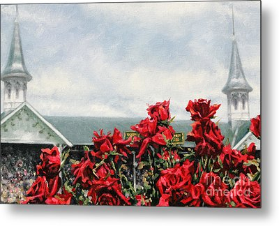 Derby Day Metal Print