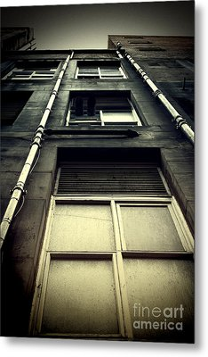 Metal Print featuring the photograph Derelict Building by Craig B