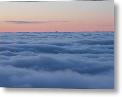 Descent Metal Print by Bruce Patrick Smith