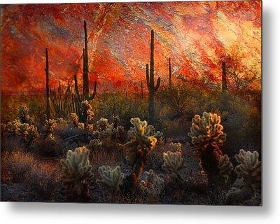 Desert Burn Metal Print