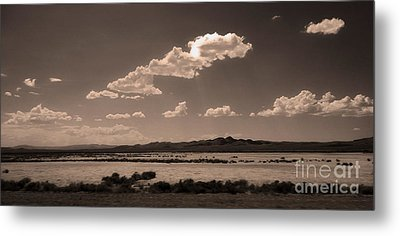 Desert Clouds Metal Print by Gregory Dyer