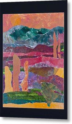 Desert In Spring Metal Print