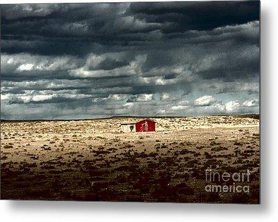 Desert Landscape Metal Print by Julie Lueders