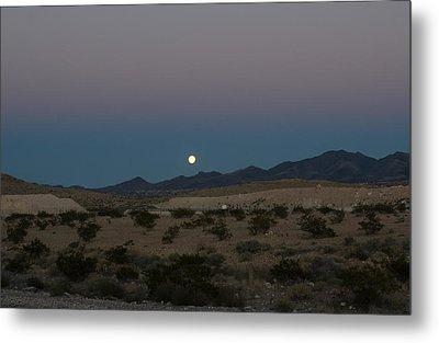 Desert Moon-1 Metal Print