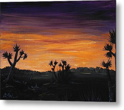 Desert Night Metal Print