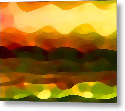 Desert Pattern 2 Metal Print by Amy Vangsgard