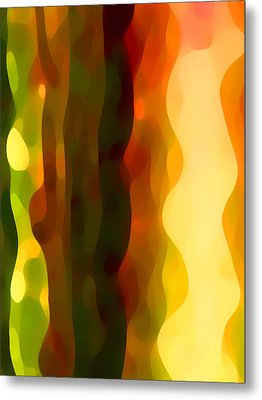 Desert Pattern 4 Metal Print by Amy Vangsgard