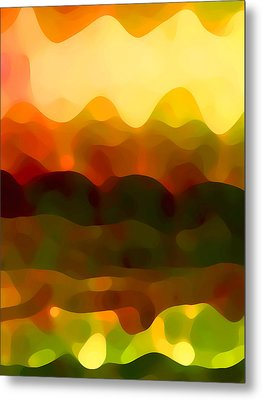 Desert Pattern 5 Metal Print by Amy Vangsgard
