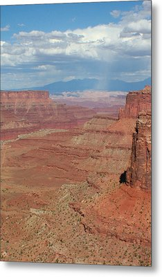 Metal Print featuring the photograph Desert Rain by Jon Emery