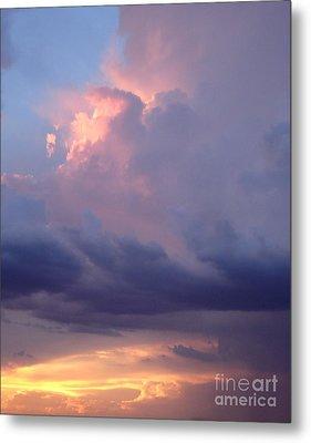 Desert Rainstorm 6 Metal Print by Kerri Mortenson