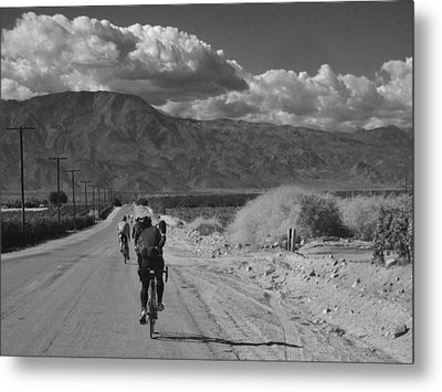 Desert Ride Metal Print