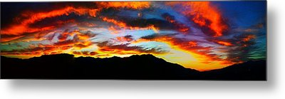 Desert Sunset 15 Metal Print by Chris Tarpening