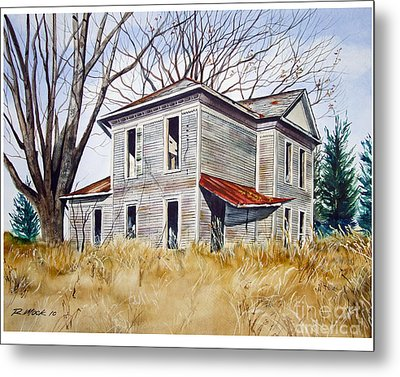 Deserted House  Metal Print by Rick Mock