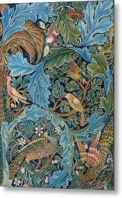 Design For Tapestry Metal Print by William Morris