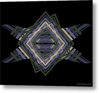 Design Time Thinking Metal Print by Brian Johnson