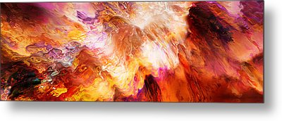 Desire - Abstract Art Metal Print by Jaison Cianelli