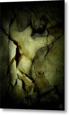 Destroying A Beautiful Memory Metal Print by Gun Legler