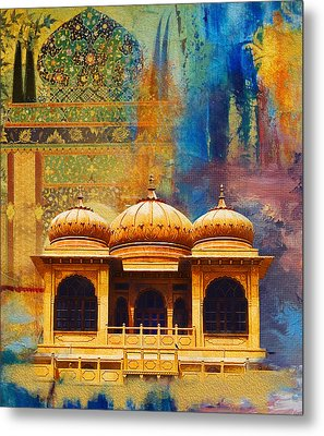 Detail Of Mohatta Palace Metal Print