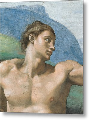 Detail Of The Vault Metal Print by Michelangelo