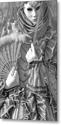 Metal Print featuring the photograph Detail Of Venice by Graham Hawcroft pixsellpix