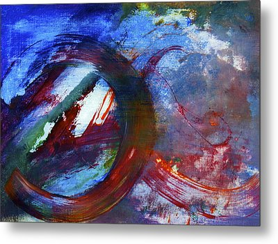 Metal Print featuring the painting Detour by Tracey Myers