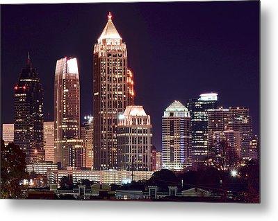 Atlanta Towers Metal Print
