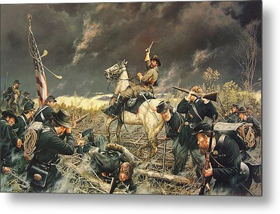 Devil At Fallen Timbers Metal Print by Dan Nance