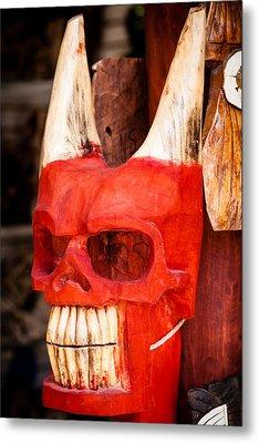 Devil In The Details Metal Print