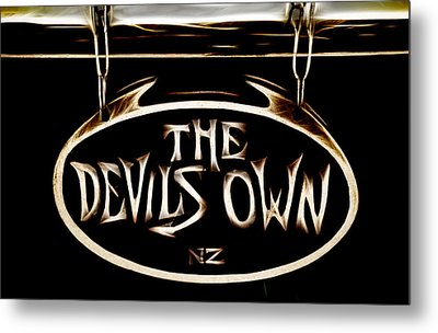 Devils Own Metal Print by Phil 'motography' Clark